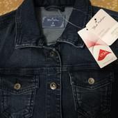 Джинсовая куртка для подростка Blue Motion размер S 36/38