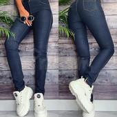 Kadeqi джинсы женские текстильные Весение стрейчевые