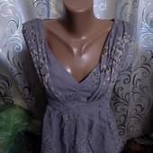 Нежная шелковая блуза Ted Baker