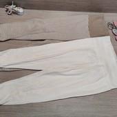 Распродажа!!! Лот из 2 коттоновых штанишек! Унисекс расцветка! 86/92!