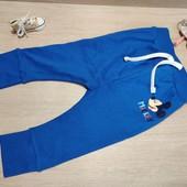 Распродажа!!! Суперовые спортивные штаники для малыша! 18 мес, 86 рост! Цвет не такой яркий в жизни!