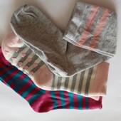 Лот 3 пары!!! Набор качественных носочков от Tchibo (Германия), размер: 27-30
