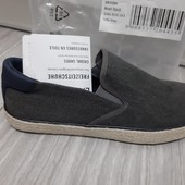 Фирменые шикарные Германия Livergy натуральные модные мокасины р 43