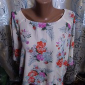 Нежная блуза свободного кроя с цветочным принтом new look