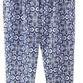 Яркие летние брюки гарем этно узор,Esmara. Размер S, евро 36-38