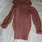 Детский свитерок, туника 4-6 лет
