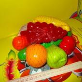 Овощи, фрукты 8 предметов,новые.