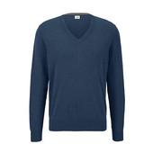 Свитер - пуловер с v-образным вырезом от Tchibo (Германия), размер наш: 54-58 (ХL евро)