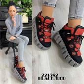 Стильные кроссовки-ботинки