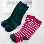 ☘ Лот 1 шт☘ Носочки с махровой стопой от tcm Tchibo Германия, размер 23-26, полоска