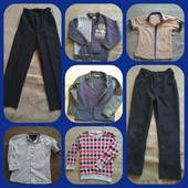 Пакет вещей и обуви для мальчика, можно в школу!