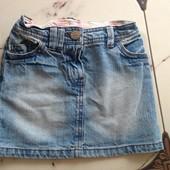 Юбка джинсовая пот 24 см