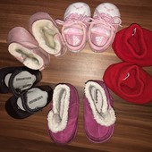 Обувка для девочки 3-6-12 месяцев