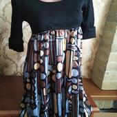Женское свободное платье Lm Lulu, производство Франция. Размер на выбор.