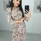 Новые платья!!! 3 размера, даю все замеры - пишите какой размер!!! Очень красивое!