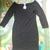 Много лотов,собирайте)черное базовое платье Н М ,размер м