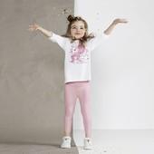 Рожеві лосінки на дівчинку, бренд lupilu, розмір 86/92