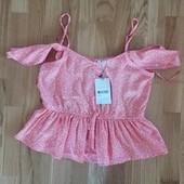 Летняя блузка jennyfer размер s смотрите замеры