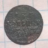 Царская Россия 1/4 копейки 1896
