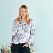 Блуза в квітковий принт. Європейський розмір М 40/42