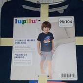Летняя пижама Лупилу,на мальчика размер 98/104