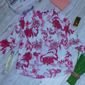 """Роскошная блузка из вискозы """"M&Co"""" р-р 16 в отличном состоянии"""