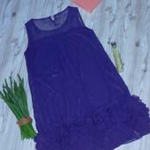 """Шикарное шифоновое платье """"Soo Lee"""" р-р С/М в отличном состоянии"""