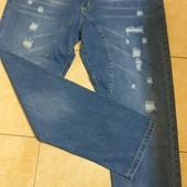 Шикарные новые джинсы унисекс Hemiks 40