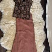 Лёгкая юбка+блуза