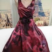 Нарядное платье со съёмным поясом и пышной юбкой, Kaliko, размер L.