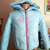 Прелестные курточки демисезонные для девочки.