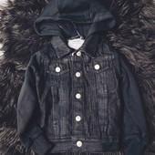 Джинсовая куртка.рукав на байке lupilu