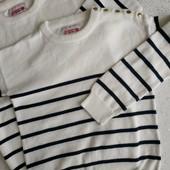 Хлопковые фирменные свитерочки для девочки размеры 140 и 146