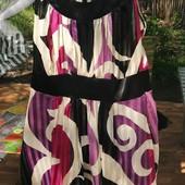 Красивое прозрачное платье с подкладкой Не секонд!
