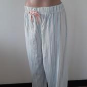"""Фирменные штанишки для дома и отдыха """"Primark""""100% хлопок р-р 56/58"""