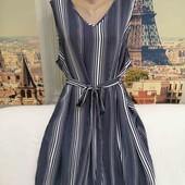 Блуза - туника со съёмным поясом, Yours, размер 2XL - 3XL.