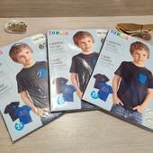Германия! 1 упаковка из 2 суперовых коттоновых футболок с динозаврами для мальчика! Размер на выбор