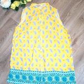 Красивая нарядная блуза - майка, р.48-50-52. Состояние новой