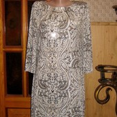 Качество!!! Нарядное, легкое, свободное платьице от бренда F&F, в новом состоянии