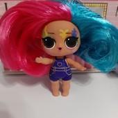 Серия Hairgoals MGа lоl с шикарными волосами!В лоте голенькая куколка клякса!