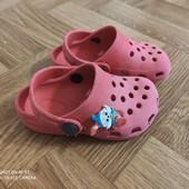 Детские кроксы р 24-16 см.