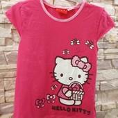 Hello Kitty футболка на 122-128 см