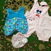 одежка для малышки 0-4мес