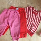 Одежда на девочку 9-12 мес