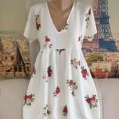 Новое, нежное летнее платье с завязками сзади, Motel, размер М.