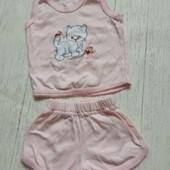 Летний костюмчик для девочки на 1 год
