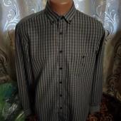 Стильная мужская рубашка в клетку f&f