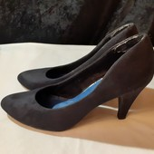 Классика! Черные туфли Pecaro, разм. 38 (24,5 см внутри). Сост. очень хорошее!