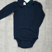 Бодик- рубашка H&M ⚠️ 98(2-3 года)