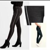 Бомбезные  джинсы c ломпасами Esmara c коллекции Heidi Klum евро 36+6 замеры